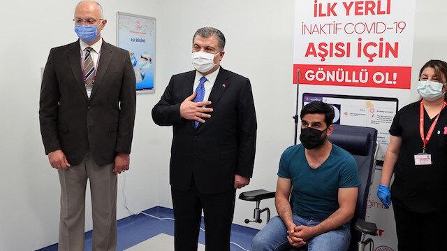 Yerli Kovid-19 aşısı TURKOVAC için 846 bin 451 kişi gönüllü oldu