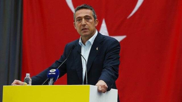 Fenerbahçe Başkanı Ali Koç'tan teknik direktör müjdesi