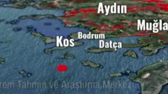 Ege Denizi'ndeki 5,3'lük depremin korkutan sinyal sesi