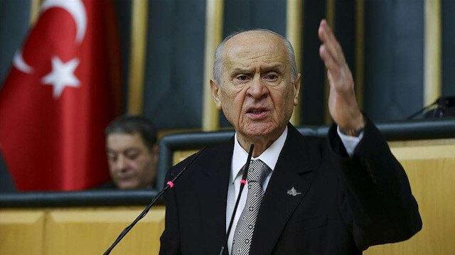 MHP Genel Başkanı Bahçeli: Binada tek bir HDP'li yönetici yok
