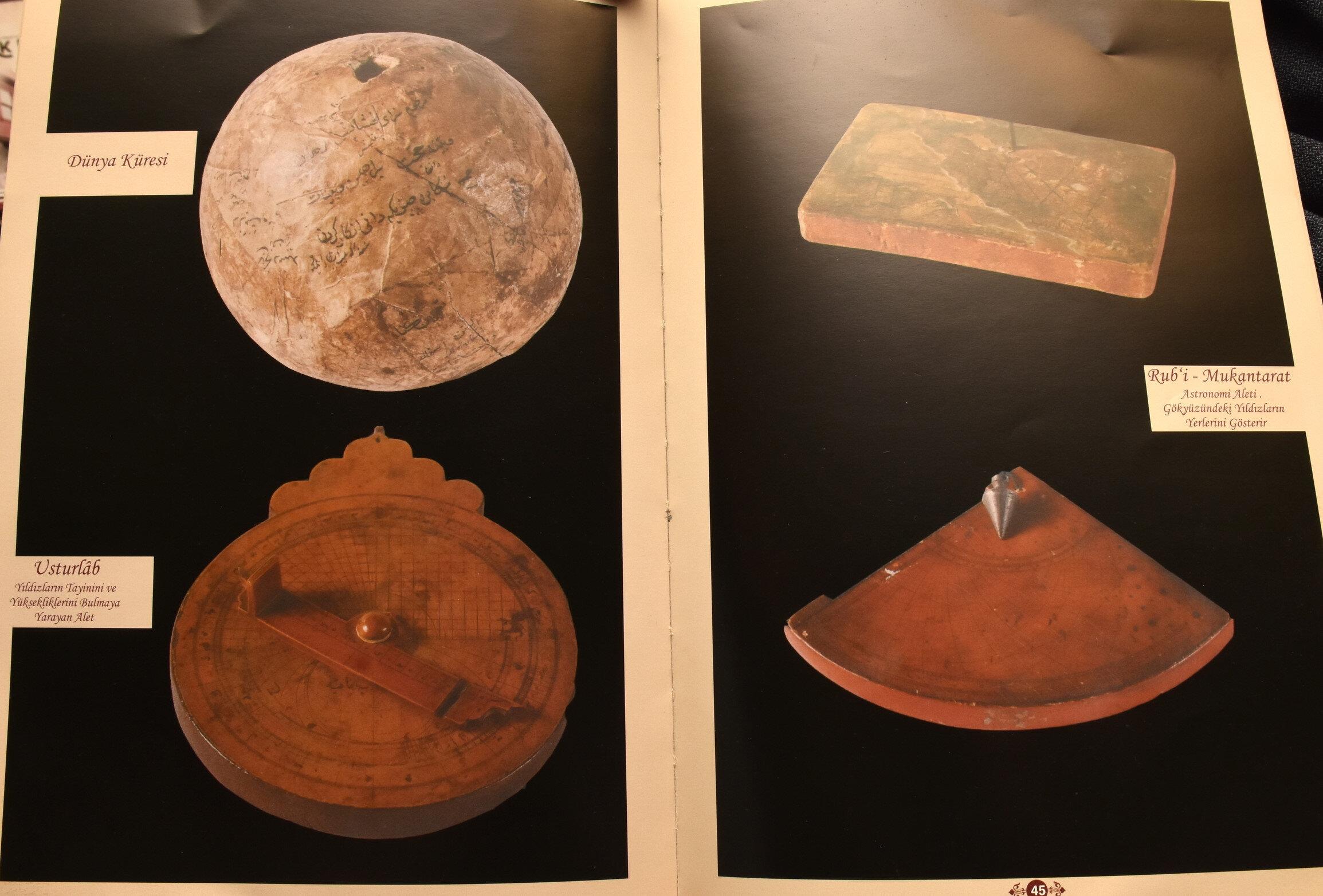 Erzurumlu İbrahim Hakkı, Marifetname eserinde güneş ve ay sistemiyle ilgili bilgilere de yer verdi