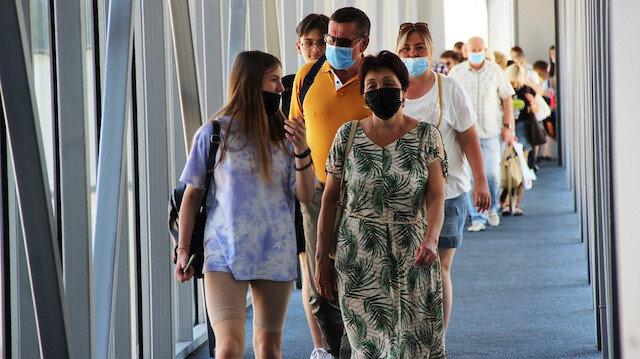 Antalya'dan sonra Bodrum'a da Rus turist akını başladı