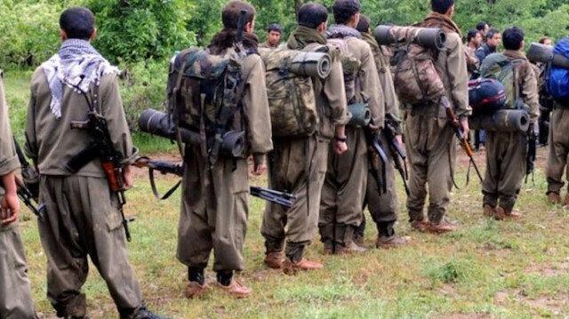 PKK'dan kaçan beş terörist güvenlik güçlerine teslim oldu