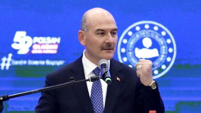 İçişleri Bakanı Soylu: Uyuşturucu yakalamalarında son yıllarda tarihi rekorlar kırıyoruz