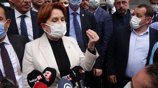 """İYİ Parti lideri Akşener'den """"Darp edilen gazeteci için konuşacak mısınız?"""" sorusuna cevap: Benimle ne alakası var"""