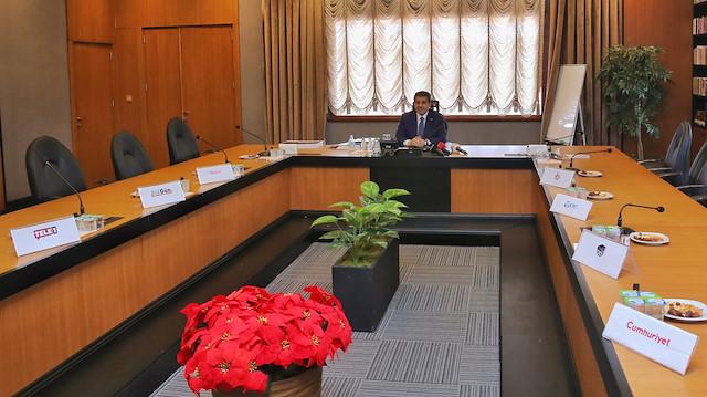 Sözcü Oda TV TELE1 did not attend the invitation, where Esenler Mayor Tevfik Göksu called for