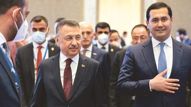 Fuat Oktay Özbekistan'da: Yedi sektörde iş birliği çağrısı