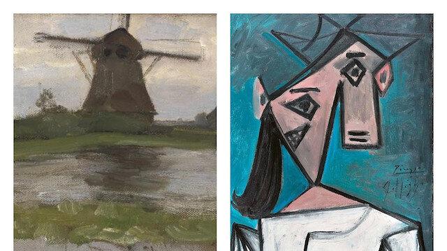 Dokuz yıl önce çalınmışlardı: Picasso ve Mondrian tabloları Yunanistan'da bulundu