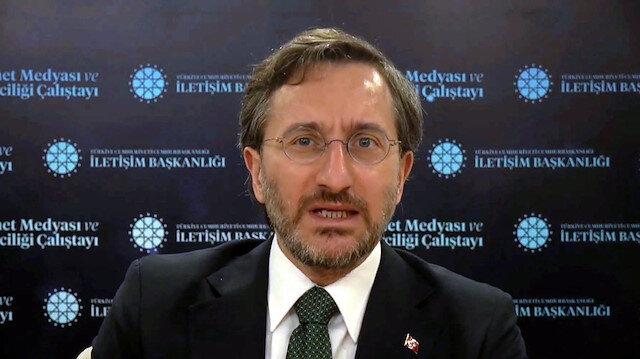 İletişim Başkanı Fahrettin Altun: Yalan haber ulusal güvenlik sorunu olarak görülmeli