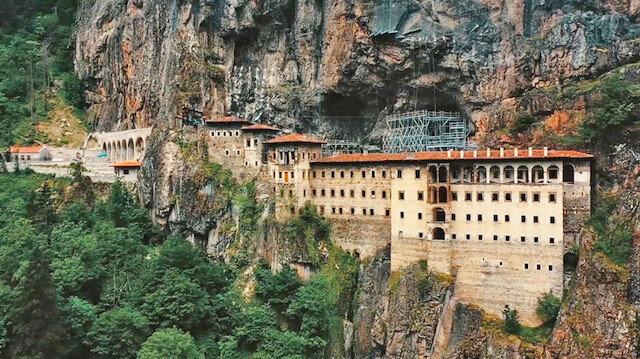 Sümela Manastırı'nda 5 yıllık restorasyonun sonuna gelindi: Hiç görülmeyen bölümler yarın ziyarete açılıyor