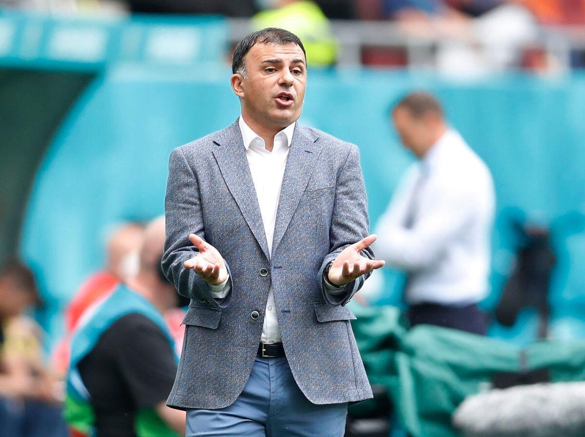 Igor Angelovski şu anda Kuzey Makedonya'nın teknik direktörlüğünü yapıyor.