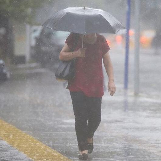 Meteorolojiden Kırıkkale için kuvvetli sağanak uyarısı