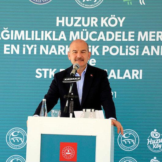 Bakan Soylu: Türkiye'de 92 bin 665 uyuşturucu satıcısı var
