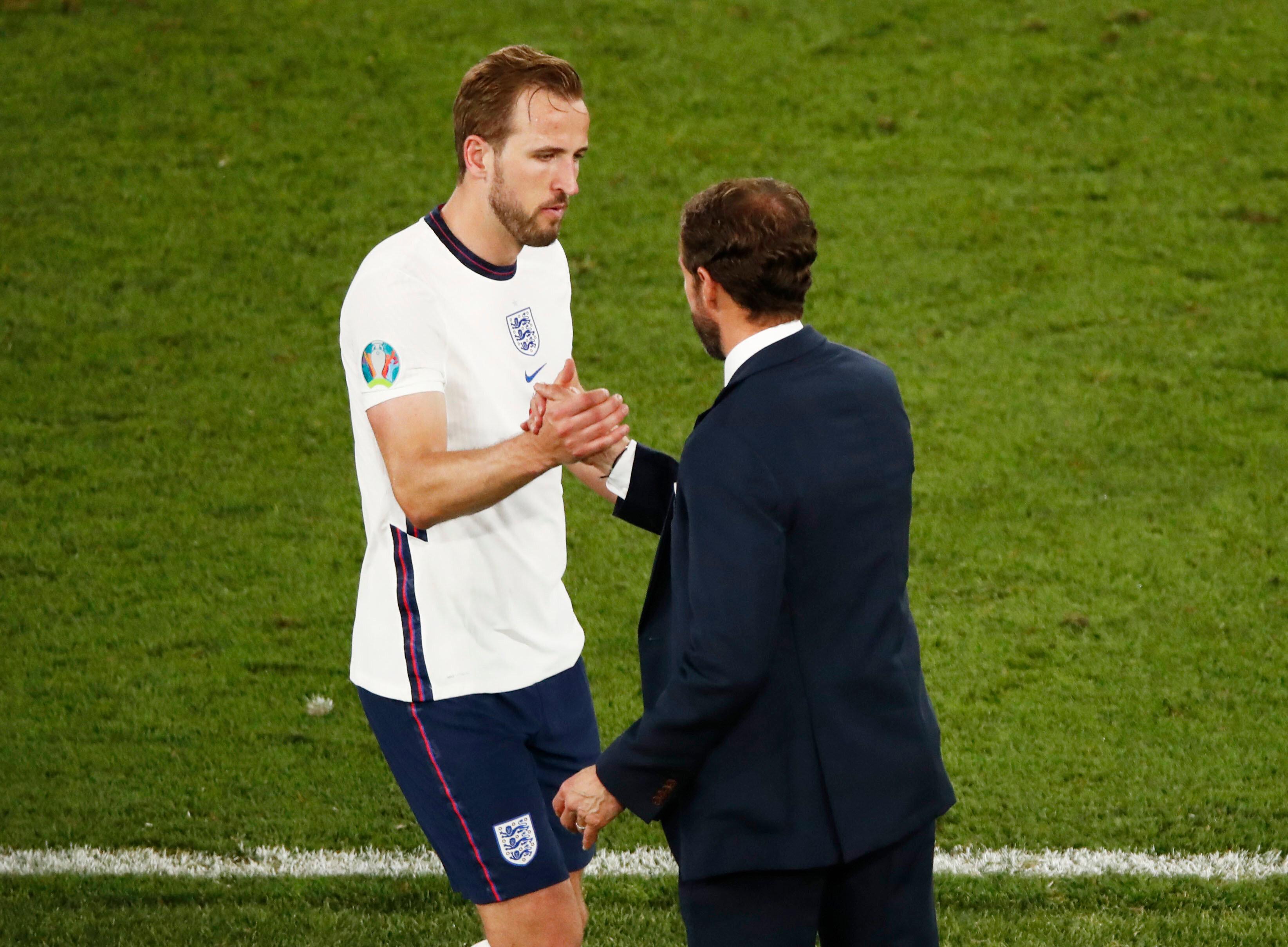 Harry Kane attığı ikinci golden kısa bir sonra teknik direktör Gareth Southgate tarafından oyundan alındı.