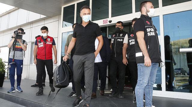Vitor Pereira İstanbul'a ekibiyle birlikte geldi