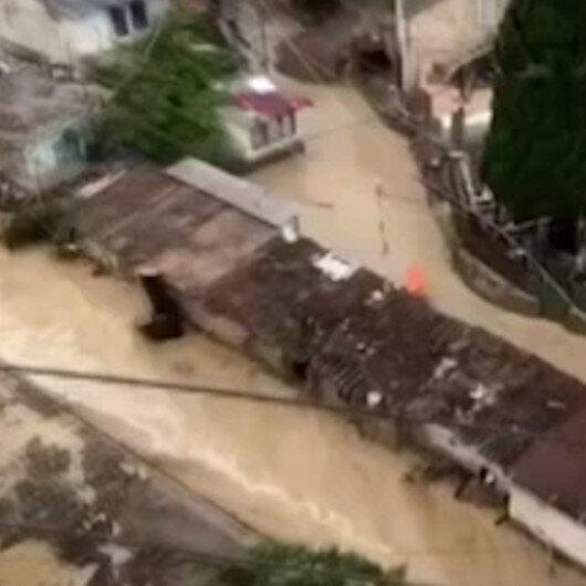 Kırım Yarımadasını yine sel vurdu