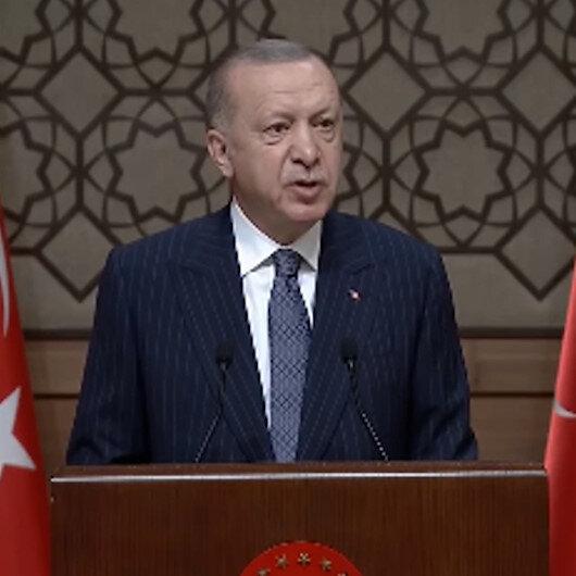 Cumhurbaşkanı Erdoğan: Suyumuzu korumakla vatanımızı korumak arasında hiçbir fark yok