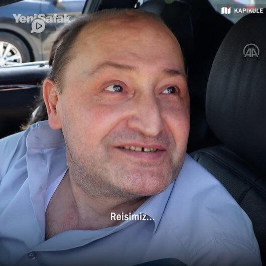 Kapıkulede bekleyen gurbetçi: Cennete gelmiş gibi hissediyorum çocuklarımı Ayasofya ve Çamlıcaya götürüp reise dua edeceğim