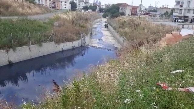 Kötü kokuların geldiği Haramidere'de kirlilik devam ediyor