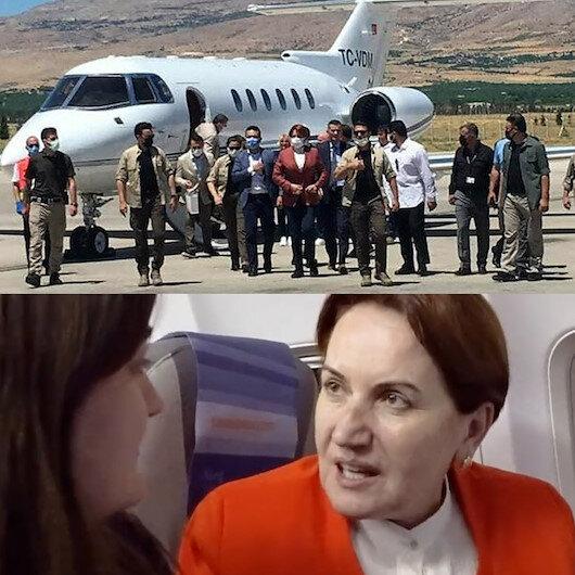 Özel jetle seyahat eden Akşenerin Biz özel uçakla gezmiyoruz sözüm söz hepsini satacağım ifadeleri gündemde