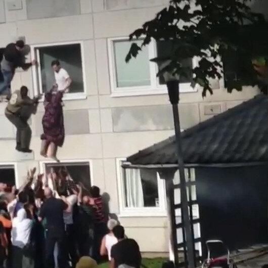 İsveçte kadın komşusunu yangından kurtaran Bosnalı genç kahraman ilan edildi