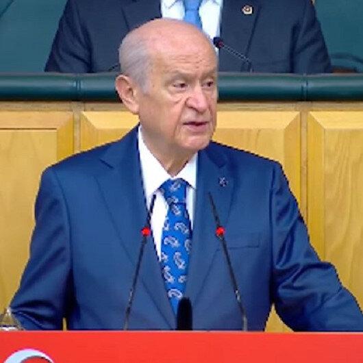 Devlet Bahçeliden CHPye:  Bunlar yalancının daniskası