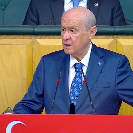 Devlet Bahçeli: Kılıçdaroğlu dokunulmazlığın kaldırılmasını istesin biz de ilk kez CHPye destek vereceğiz