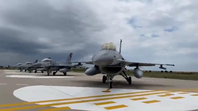 MSB duyurdu: Türk jetleri Polonya'ya ulaştı