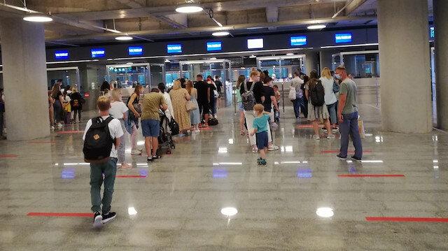 Hava ulaşımı korona dinlemedi: Altı ayda yolcu sayısı 40 milyonu aştı