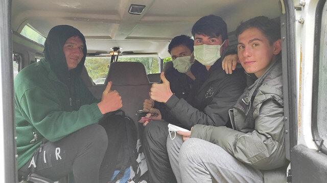 Uludağ'da kaybolan 4 arkadaş 6 saat sonra bulundu