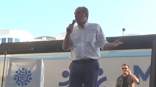Muharrem İnce'den CHP'lilere uyarı: 2018'de bana oy verdiğinizi söylemeyin partiden atarlar
