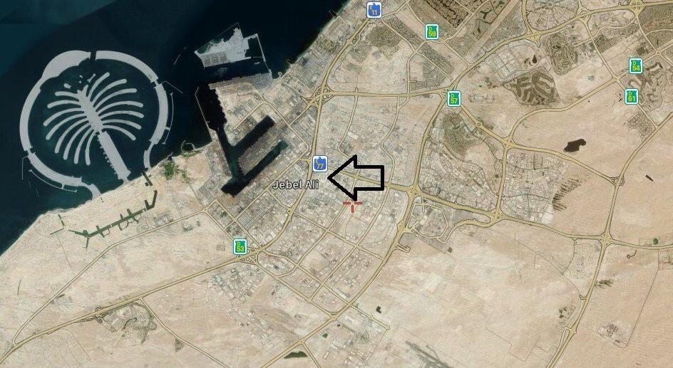 Bölge kaynaklarının aktardığına göre patlamanın meydana geldiği yer.