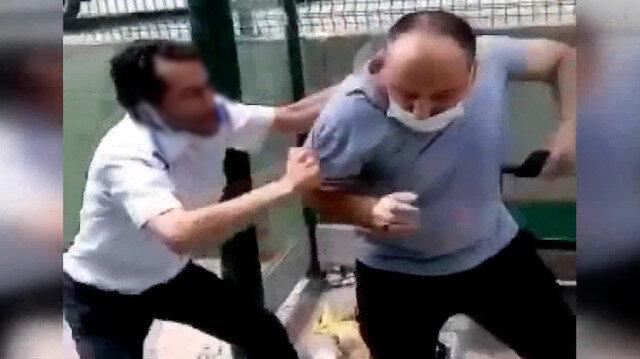 Otobüs şoförü tartıştığı yolcuyu dövdü