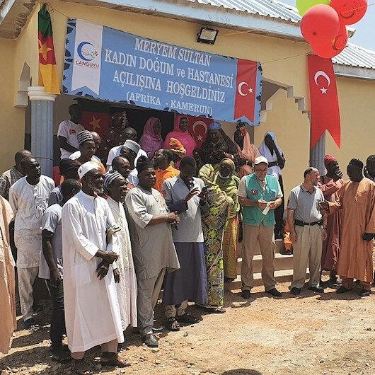 Kamerun'a Cansuyu ile yeni canlar gelecek
