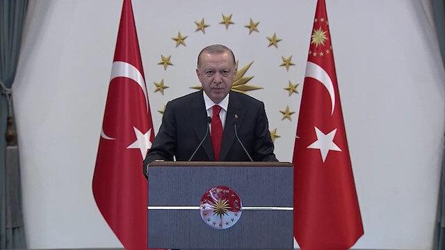 Cumhurbaşkanı Erdoğan: İHA-SİHA-TİHA alanında dünyanın ilk 3-4 ülkesi içindeyiz