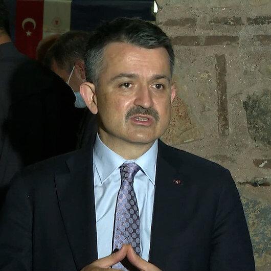 Bakan Pakdemirli: Marmara Denizindeki balıkların yenilmesi ile ilgili bir problem yok