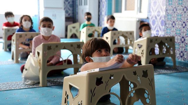 Yaz Kur'an kursları başladı: Camilerin sessizliği çocukların neşesiyle canlılık buldu