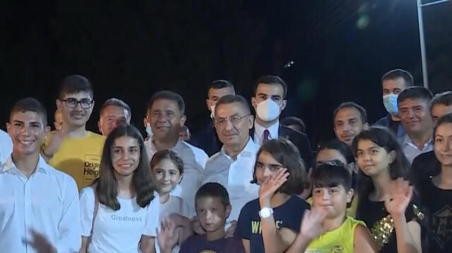 Cumhurbaşkanı Yardımcısı Oktay'dan KKTC'ye ziyaret: Buraya geldiğimizde kendi memleketimize geliyoruz