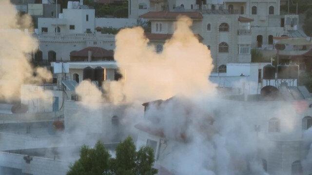 İşgalci İsrail Filistinli bir tutuklunun evini yıktı: Yıkıma tepki gösterenlere saldırdı