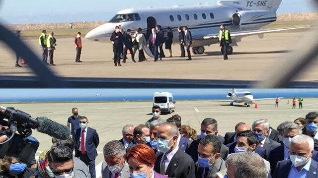 Meral Akşener'in Trabzon Bodrum ve Hatay'a da özel jetle uçtuğu ortaya çıktı
