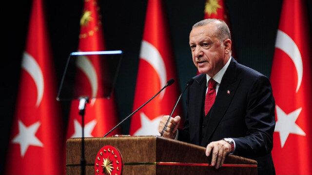 Cumhurbaşkanı Erdoğan: Eninde sonunda hakikat duvarına çarparak kendilerine gelecekler