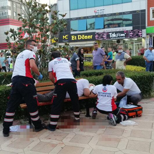 Tekirdağ'da şaşkına çeviren olay: Yanından geçerken maskesiz hapşıran yaşlı adamı bıçakladı