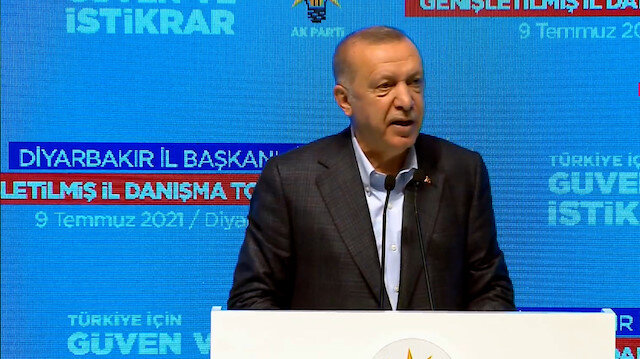 Cumhurbaşkanı Erdoğan: Organize suç örgütlerinden medet ummaya başladılar