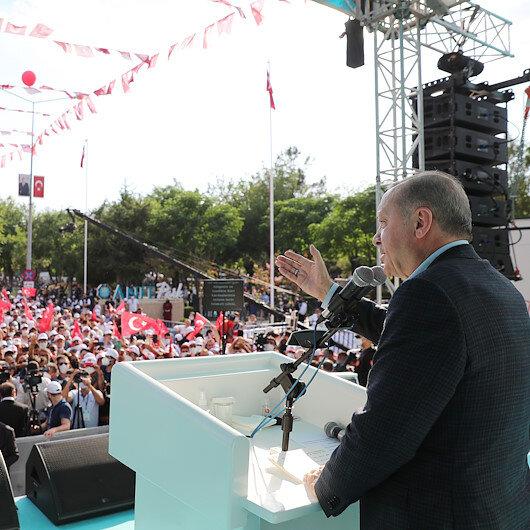 Cumhurbaşkanı Erdoğan: Çözüm sürecini HDPnin art niyeti ve gizli gündemi sonlandırdı