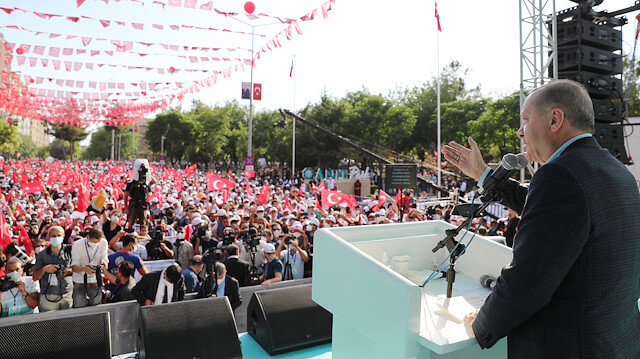 Cumhurbaşkanı Erdoğan: Çözüm sürecini HDP'nin art niyeti ve gizli gündemi sonlandırdı