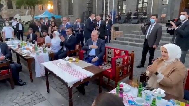 Cumhurbaşkanı Erdoğan Diyarbakır'da gençlerle bir araya geldi