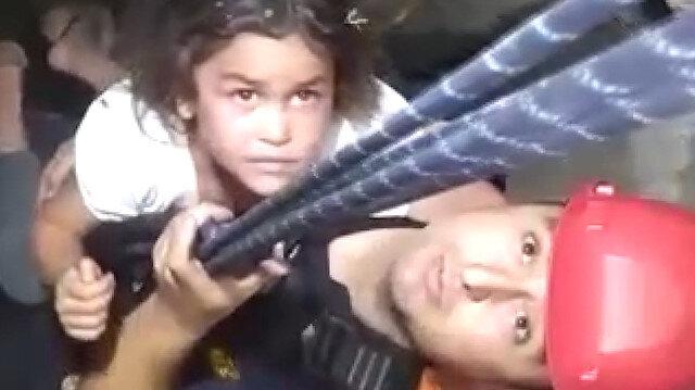Malatya'da su kuyusuna düşen küçük kız itfaiye ekiplerince kurtarıldı