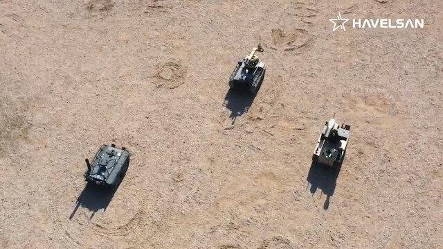 TSKya robot asker Barkan geliyor: Sürü halinde görev yapabilecek