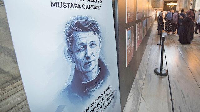 Mustafa Cambaz Ayasofya'da
