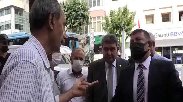 CHP'li vatandaştan Veli Ağbaba'ya: Kılıçdaroğlu'nun liderlik yapabileceğine inanmıyorum